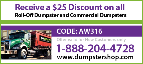 Dumpster Shop Coupon